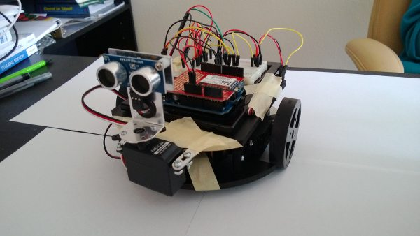 Front view of Betelbot